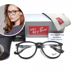 แว่นสายตา RayBan RB7046 5363 53-18 150 <ดำเงา>