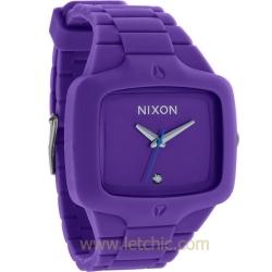 นาฬิกา NIXON รุ่น RUBBER PLAYER A139230 นาฬิกาข้อมือผู้ชาย ของแท้ ประกันศูนย์ไทย 2 ปี ส่งพร้อมกล่อง และใบรับประกัน