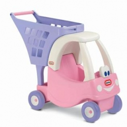 รถเข็น Little Tikes Princess Cozy Shopping Cart Pink/Purple สีชมพู ม่วง