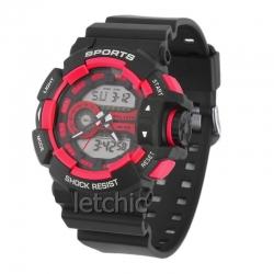 นาฬิกา Alike Sport watch นาฬิกาข้อมือ unisex รุ่น AK14111 Red - สีแดง ของแท้ รับประกันศูนย์ 1 ปี ราคาพิเศษ ราคาถูกที่สุด