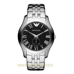 นาฬิกา Emporio Armani รุ่น AR1706 นาฬิกาข้อมือผู้ชาย สายสแตนเลส สีเงิน แบบเงา ของแท้ ประกันศูนย์ไทย 2 ปี ส่งพร้อมกล่อง และใบรับประกัน