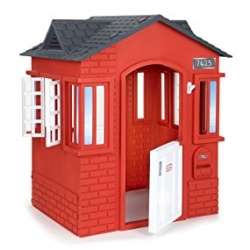 บ้านในฝันหลังน้อย Little Tikes Cape Cottage Playhouse สีแดง แสนน่ารัก