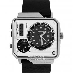 นาฬิกา Diesel รุ่น DZ7242 Time Zone Analog-Digital นาฬิกาข้อมือผู้ชาย สายหนัง ของแท้ ประกันศูนย์ไทย 2 ปี ส่งพร้อมกล่อง และใบรับประกัน
