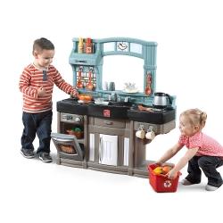 ชุดครัว สำหรับเชฟตัวน้อย Step2 Best Chef's Kitchen Set, Blue/Black/Brown หลากหลาย ครบครัน