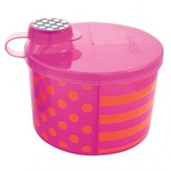 กระปุกแบ่งนมผง Sassy On-the-Go Formula Dispenser, Pink & Orange สีชมพู ส้ม