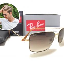 แว่นกันแดด Rayban RB3514 Flat Metal 149/13 58-15 2N <ทอง>
