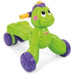 รถผลักเดิน ลายไดโนเสาร์ สีเขียวหวานน่ารัก Fisher-Price Go Baby Go! Stride-to-Ride Dino
