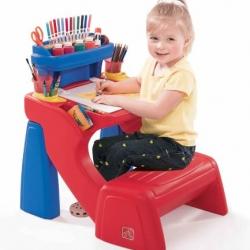 โต๊ะสารพัดประโยชน์ Step2 Write Desk ใช้ทำการบ้าน วาดเขียน ระบายสี