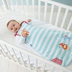ถุงนอนเด็ก Grobag Baby Sleeping Bag 1.0 Tog, ลาย Sleepy Circus แบรนด์ดังจากอังกฤษ ขนาด 0-6 เดือน