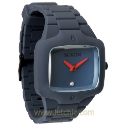 นาฬิกา NIXON รุ่น RUBBER PLAYER A139690 นาฬิกาข้อมือผู้ชาย ของแท้ ประกันศูนย์ไทย 2 ปี ส่งพร้อมกล่อง และใบรับประกัน
