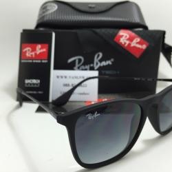 แว่นกันแดด Rayban RB4187 Chirs 622/8G 54-18 3N <ดำ>