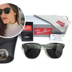 แว่นกันแดด Rayban RB 3576-N Blaze Clubmaster 043/9A 140 3N <ทอง>