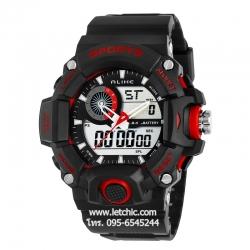 นาฬิกา Alike Sport watch นาฬิกาข้อมือ unisex รุ่น AK14101 Red - สีแดง ของแท้ รับประกันศูนย์ 1 ปี ราคาพิเศษ ราคาถูกที่สุด