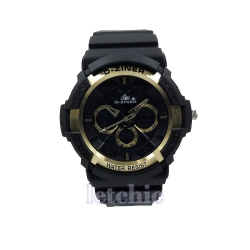 นาฬิกา D-Ziner Sport watch รุ่น DZ-8019 นาฬิกาข้อมือ unisex สีทอง ของแท้ รับประกันศูนย์ 1 ปี ราคาพิเศษ ราคาถูกที่สุด