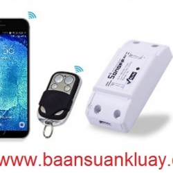 Smart Home For Sonoff G09 WiFi Smart Switch and Remote 433MHz Switch
