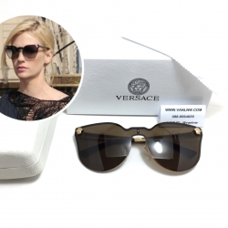 แว่นกันแดด Versace JJ Cateye VE 2120/S BLACK 87GA/GREY <ชา>