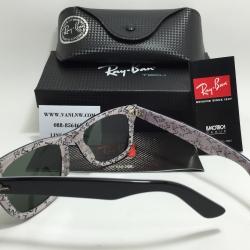 แว่นกันแดด RB2140 Wayfarer 1015 50-22 3N <ขาว>
