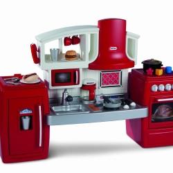 ชุดครัว Little Tikes Bake N Grow Kitchen ครัวที่สามารถยืด หด ได้ตามความต้องการ สีแดง
