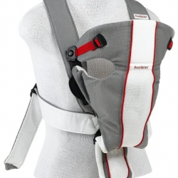 เป้อุ้มเด็ก BABY BJORN Baby Carrier รุ่น Original Air สีเทา ขาว (BABY BJORN Baby Carrier Air - Gray/White, Mesh)