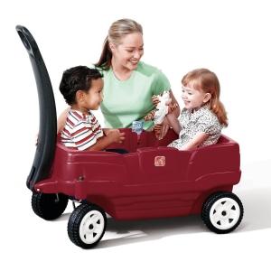 รถเข็นสี่ล้อ Step2 Neighborhood Wagon สีแดง