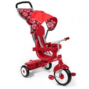 รถสามล้อ 4 in 1 แบรนด์ยอดฮิต Radio Flyer Deluxe 4-in-1 Stroll n Trike - Red สุดแสนคุ้มค่า