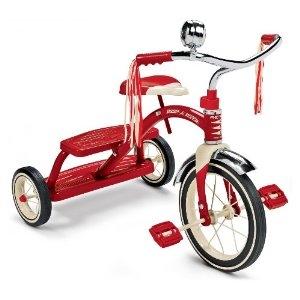 จักรยาน Radio Flyer Classic Dual Deck สีแดง