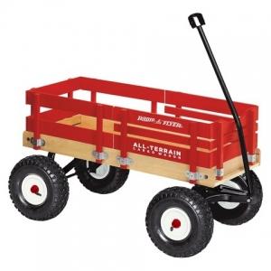 รถเข็นวาก้อน สี่ล้อ Radio Flyer All-Terrain Cargo Wagon แข็งเเรง บึกบึน โดดเด่น ไม่ซ้ำใคร