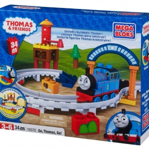 "ตัวต่อ Mega Bloks Thomas The Train ""Go Thomas Go!"""
