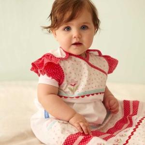 ถุงนอนเด็ก Grobag Baby Sleeping Bag 1.0 Tog, ลาย Hetty แบรนด์ดังจากอังกฤษ ขนาด 0-6 เดือน