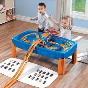 โต๊ะกิจกรรม พร้อมรางรถเเข่ง Step2 Hot Wheels Car & Track Play Table ออกใหม่ล่าสุดดดด
