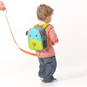 เป้ + สายจูงเด็ก ลายสัตว์ น่ารัก ป้องกันลูกหาย Skip Hop Zoo Safety Harness, Blue Dog ลายหมา