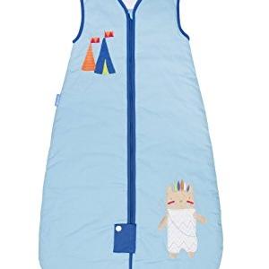 ถุงนอนเด็ก Grobag Baby Sleeping Bag 1.0 Tog, ลาย Little Chief แบรนด์ดังจากอังกฤษ ขนาด 18-36 เดือน