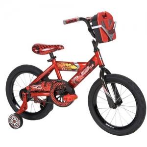 จักรยานคาร์ 4 ล้อ 16inch Huffy Disney Cars Boys' Bike with Tool Kit พร้อมกล่องเครื่องมือด้านหน้ารถ