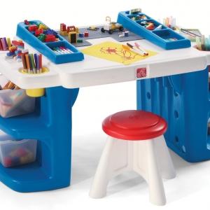 โต๊ะสารพัดประโยชน์ Step2 Build And Store Block And Activity Table ใช้ต่อบล๊อก หรือ ทำการบ้าน วาดเขียน ระบายสี ก็ได้
