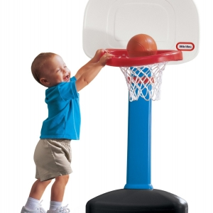 แป้นบาส สีฟ้า Little Tikes TotSports Easy Score Basketball - Boys