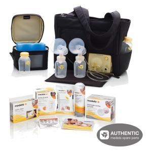 เซตเครื่องปั๊มนม Medela Pump In Style Advanced On-the-go Tote Breastpump with FREE Accessory Set สุดคุ้ม พร้อมอุปกรณ์ที่จำเป็นต่อการให้นม