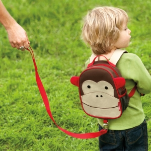 เป้ + สายจูงเด็ก ลายสัตว์ น่ารัก ป้องกันลูกหาย Skip Hop Zoo Safety Harness, Monkey ลายลิง