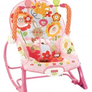 เปลโยก Fisher Price Infant to Toddler Rocker – Bunny ลายกระต่ายสีชมพู