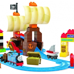 ตัวต่อรถไฟ Mega Bloks Thomas & Friends Sodor's Legend of the Lost Treasure Building Set