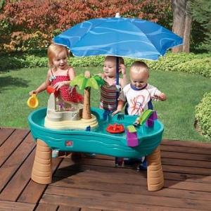 โต๊ะเล่นน้ำขนาดใหญ่ Step2 Splish Splash Seas Water Table สนุกสนาน พร้อมร่มกันเเดด