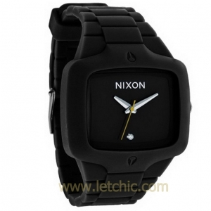 นาฬิกา NIXON รุ่น RUBBER PLAYER A139000 นาฬิกาข้อมือผู้ชาย ของแท้ ประกันศูนย์ไทย 2 ปี ส่งพร้อมกล่อง และใบรับประกัน