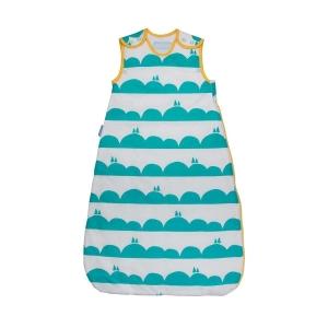 ถุงนอนเด็ก Grobag Baby Sleeping Bag 1.0 Tog, ลาย Rolling Hills แบรนด์ดังจากอังกฤษ ขนาด 6-18 เดือน