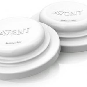 แผ่นรองปิดฝา สำหรับขวดนม Avent (Philips AVENT BPA Free Classic Bottle Sealing Discs)