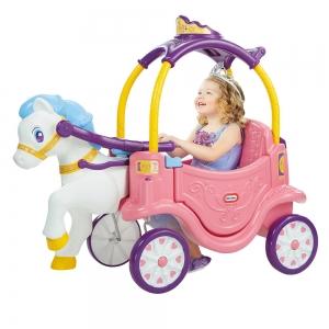 รถม้าลากจูง Little Tikes Princess Horse and Carriage