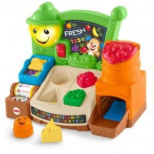 ของเล่นเสริมพัฒนาการ Fisher Price Laugh & Learn Fruits & Fun Learning Market