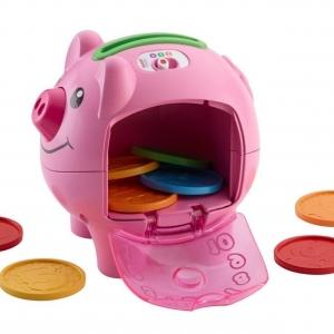 กระปุกหมูอู๊ดๆ Fisher-Price Laugh and Learn Smart Stages Piggy Bank