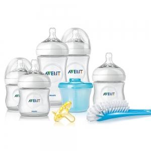 เซตขวดนม รุ่นใหม่ล่าสุด นวัตกรรมใหม่ของ Philips Avent Natural Newborn Starter Set, BPA Free