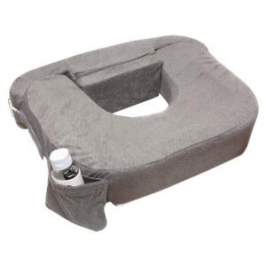 หมอนให้นมเด็กแฝด My Brest Friend Twin Plus Nursing Pillow รุ่น Deluxe สีเทา Evening Dark Gray