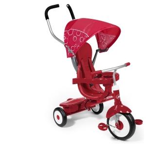 รถสามล้อ 4 in 1 แบรนด์ยอดฮิต Radio Flyer 4-in-1 Stroll N Trike สีแดง