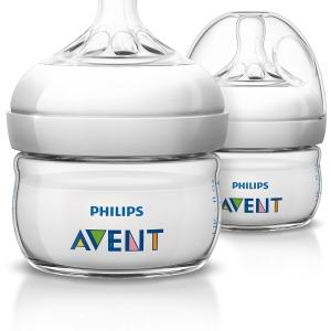 ขวดนม 2oz. Philips AVENT 2 Ounce BPA Free Natural Polypropylene Bottles 2-Pack แพคคู่